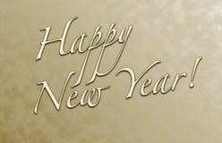 счастливый новый год открытки Стоковые Изображения