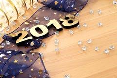 Счастливый Новый Год 2018 стоковая фотография