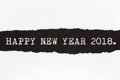 Счастливый Новый Год 2018 Стоковые Изображения RF