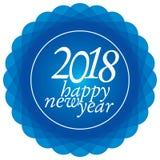 Счастливый Новый Год 2018 Стоковые Изображения