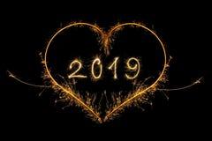Счастливый Новый Год 2019 бесплатная иллюстрация