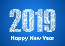 Счастливый 2019 Новых Годов стоковые изображения rf
