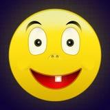 счастливый один зуб усмешки Стоковое Фото