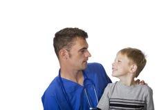 счастливый пациент стоковая фотография rf