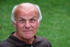 счастливый пенсионер Стоковые Фото
