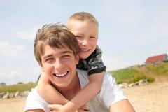 счастливый подросток малыша Стоковое фото RF