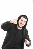 Счастливый предназначенный для подростков мужчина Стоковые Фото