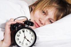 счастливый просыпать Стоковые Изображения RF