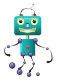 счастливый робот Бесплатная Иллюстрация