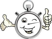 счастливый секундомер бесплатная иллюстрация