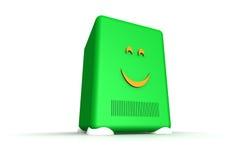 счастливый сервер Стоковое Фото