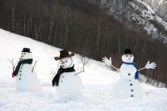 счастливый снежок человека Стоковые Фото