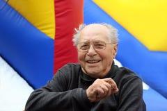 счастливый старший человека стоковая фотография rf
