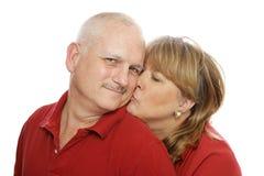 счастливый супруг Стоковые Изображения RF