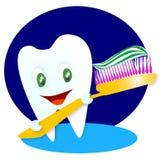 счастливый ся зуб Стоковое Фото