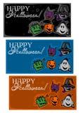 Счастливый хеллоуин, предпосылки бесплатная иллюстрация
