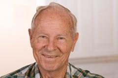 счастливый человек старый Стоковая Фотография