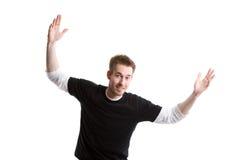 счастливый человек стоковое изображение rf