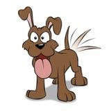 счастливый щенок Стоковая Фотография