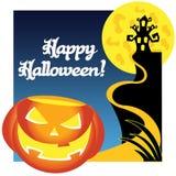 Счастливый Halloween бесплатная иллюстрация