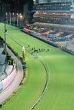 Счастливый Racecourse долины в Hong Kong стоковое изображение rf