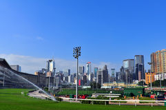 Счастливый racecourse долины, Гонконг Стоковое фото RF