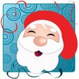 счастливый santa иллюстрация вектора