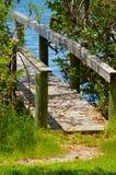 счастье моста к Стоковая Фотография
