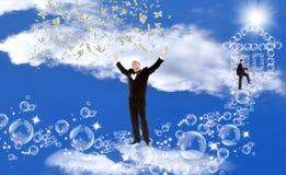 счастье принципиальной схемы финансовохозяйственное стоковое фото rf