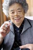 Счастливая бабушка стоковая фотография