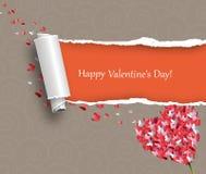 Счастливая валентинка иллюстрация вектора