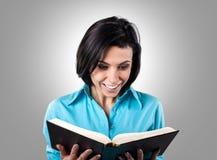 Девушка с книгой Стоковое Изображение RF