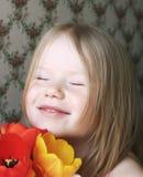 Счастливая девушка стоковые изображения
