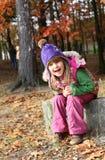 Счастливая девушка стоковые фото