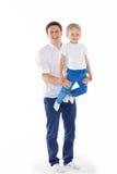 Счастливая здоровая семья Стоковые Изображения RF