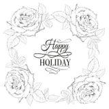 Счастливая карточка valntines праздника. бесплатная иллюстрация