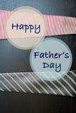 Счастливая концепция карточки дня ` s отца Стоковые Изображения RF