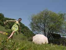 Счастливая красавица Стоковая Фотография RF