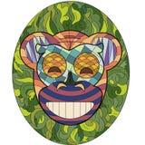 Счастливая маска обезьяны Стоковое Фото