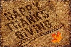 Счастливая предпосылка благодарения Стоковая Фотография RF
