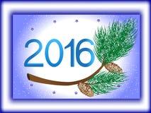 Счастливая предпосылка Нового Года и рождества для вашей поздравительной открытки Стоковое Фото