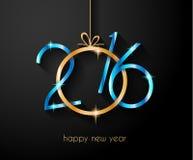 Счастливая предпосылка Нового Года 2016 для ваших рогулек рождества Стоковые Фотографии RF