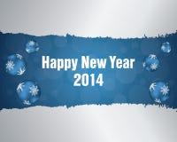 Счастливая предпосылка Нового Года иллюстрация вектора