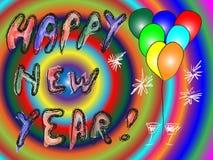 Счастливая предпосылка Нового Года Стоковые Изображения RF
