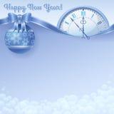 Счастливая предпосылка Нового Года Стоковое фото RF