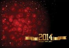 Счастливая предпосылка Нового Года Стоковые Фото