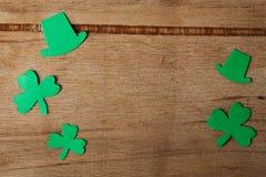 Счастливая предпосылка дня ` s St. Patrick Стоковые Изображения