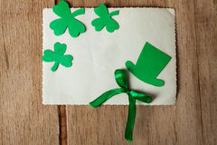 Счастливая предпосылка дня ` s St. Patrick Стоковое Изображение