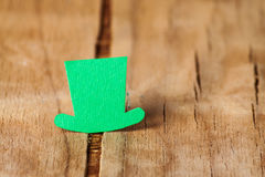 Счастливая предпосылка дня ` s St. Patrick Стоковое Изображение RF