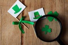 Счастливая предпосылка дня ` s St. Patrick Стоковые Фото